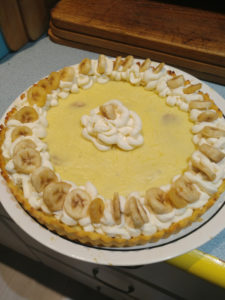 banana cream tart